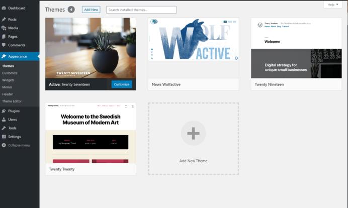 WordPress Demo