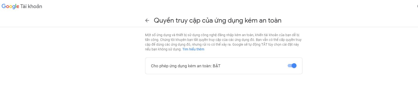 Google Setting Account Send Mail Image