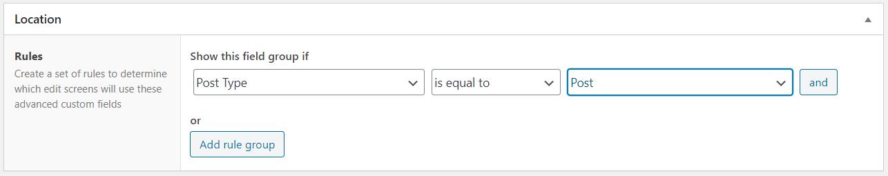 Edit Custom Field WordPress