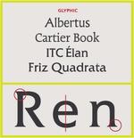 Type-face-Glyphic serif