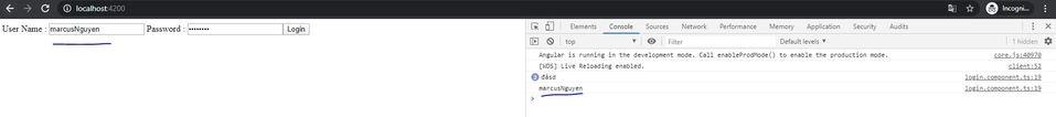 login component