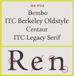 Type-face-Old Style