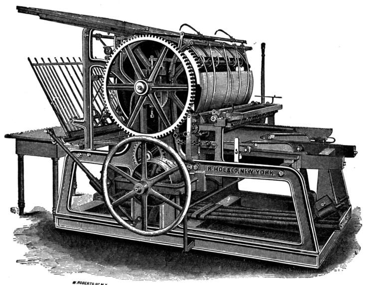 Typography-máy in đời đầu năm 1448