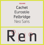 Type-face-Square
